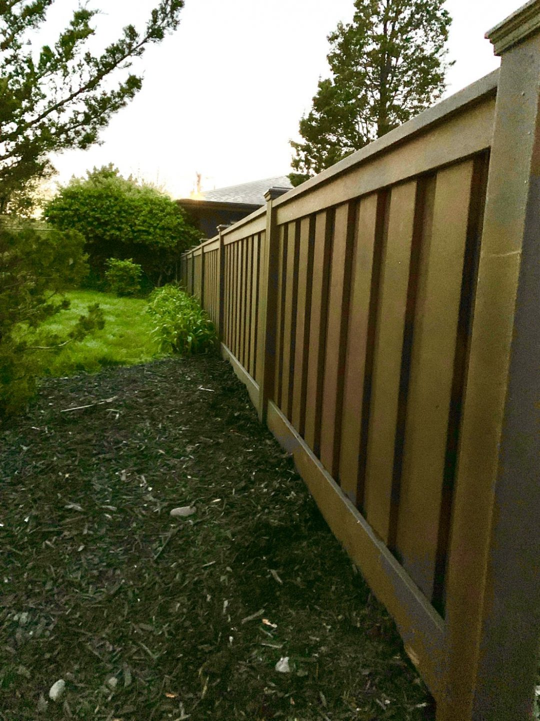 Residential TREX Fence
